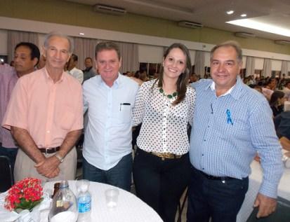 Basílio Zanusso, Eduardo Pasquini, Luciana, Carlão