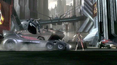 injustice - batmobile special move