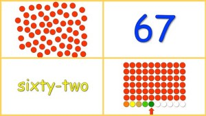 Learning Numbers 60-70 Free Baby Math Video