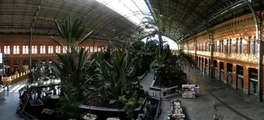 Madrid estación de Atocha 04 panoramica