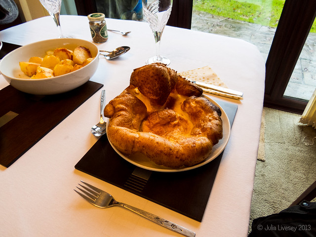 My Yorkshire Pudding has risen well