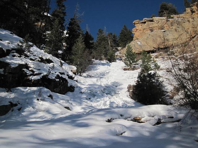 Picture from St. Marys Falls, Colorado