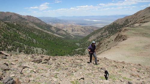 Climbing Mount Jefferson, NV