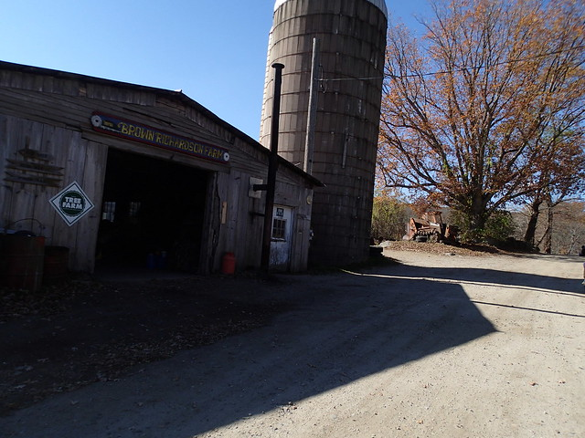 Brown Richardson Farm somewhere in Massachusetts or Rhode Island