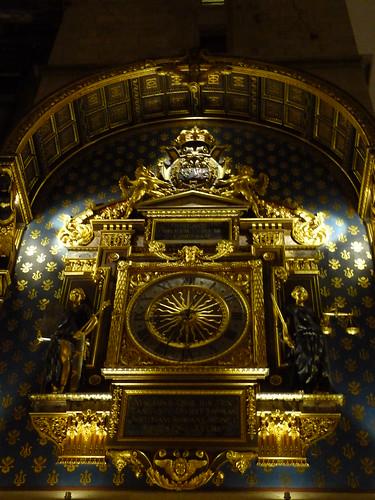L'horloge de Paris