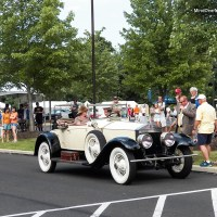 1922 Rolls-Royce Silver Ghost at the New Hope Classic Car Show