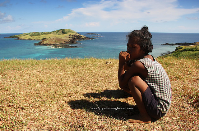 Local kid in Calaguas