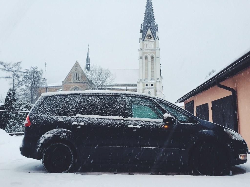 Snow Everywhere! (2/9/15)