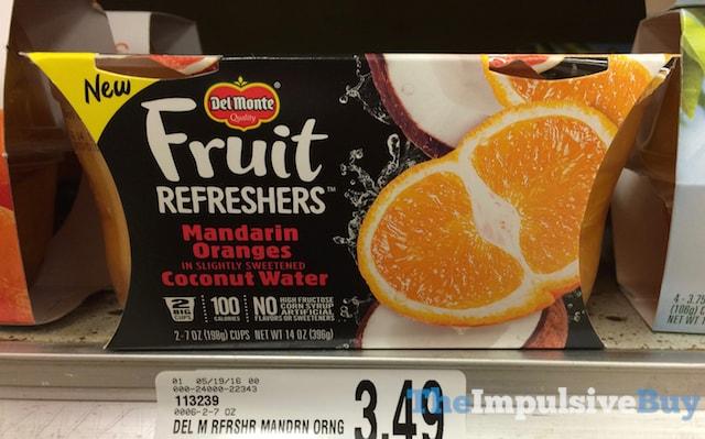 Del Monte Fruit Refreshers Mandarin Oranges in Coconut Water