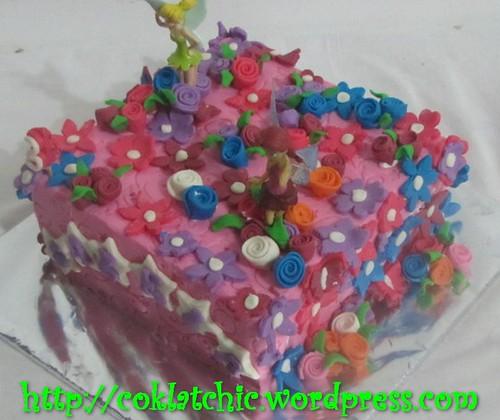 Cake Tinkerbell dan Rosetta