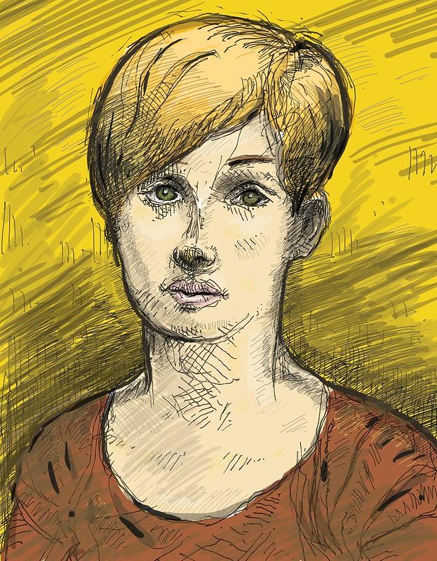 Portrait of Amélie-Jeanne