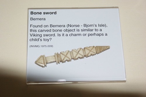 Bone objects from Bernera