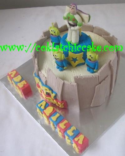 Kue ulang tahun buzz the lightyear