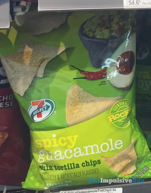 7-Select Spicy Guacamole Tortilla Chips