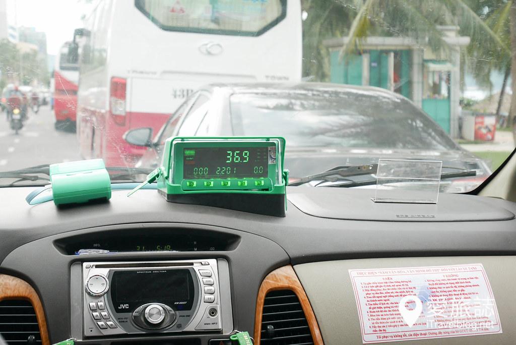 岘港出租车搭乘体验 (9)