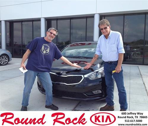 Thank you to Jerry Zamazal on your new 2014 Kia Forte from Derek Martinez and everyone at Round Rock Kia! by RoundRockKia