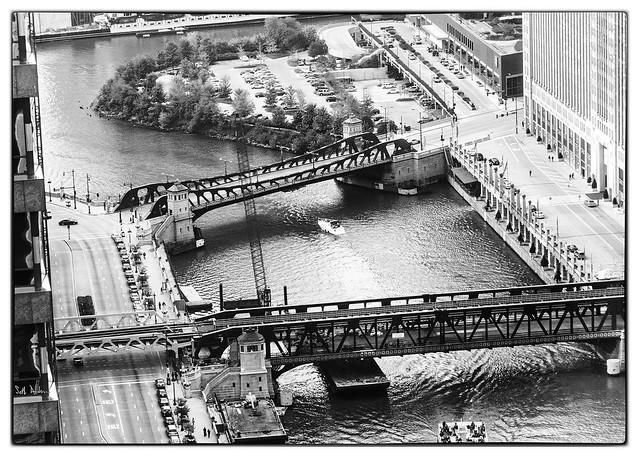 Chicago River via Kemper's Cloudy Windows