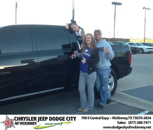 Dodge City McKinney Texas Customer Reviews and Testimonials-Thomas Tatum by Dodge City McKinney Texas
