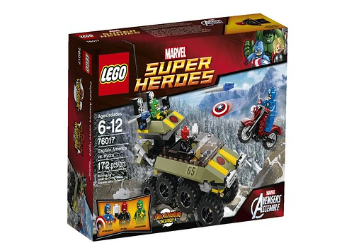 76017 Captain America vs Hydra BOX