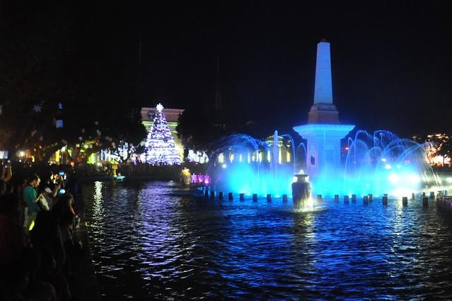Vigan's Plaza Salcedo by Night