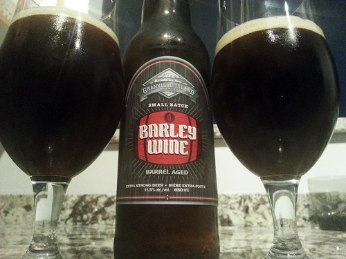 Granville Island Brewing Barley Wine 2013