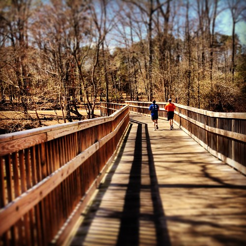 Bridge on Neuse Greenway