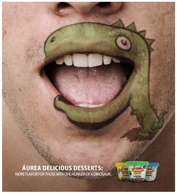 Áurea Delicious Desserts - Dinosaur