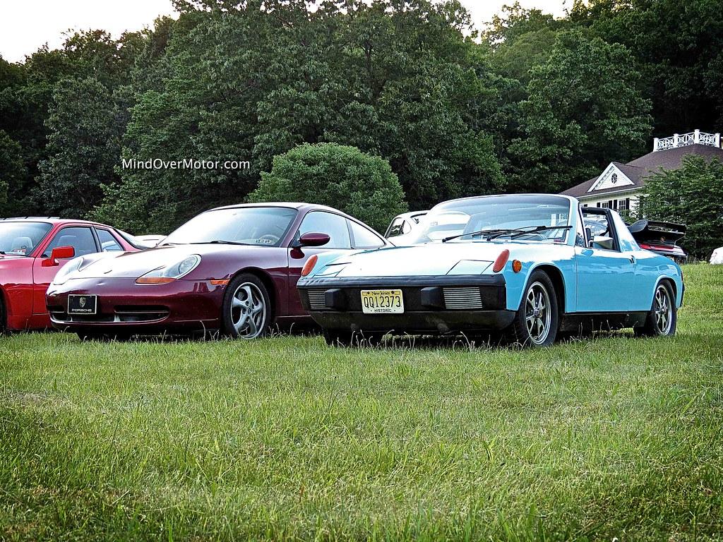 Porsche 996 Carrera and 914