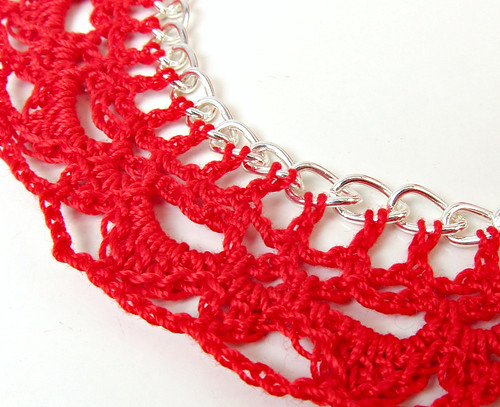 Crochet on a chain from Coats