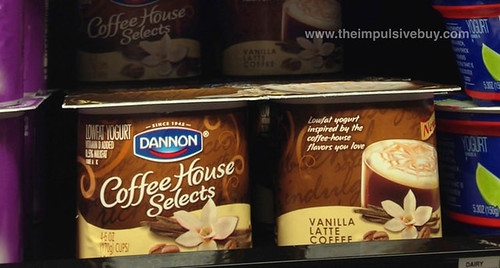 Dannon Coffee House Selects Vanilla Latte Coffee