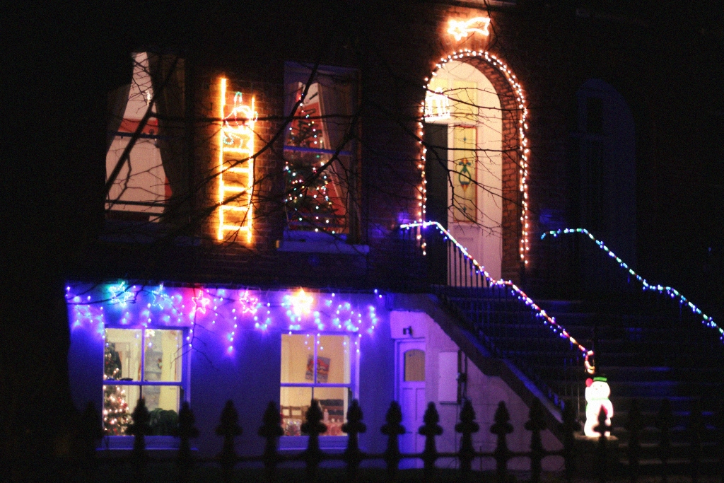 christmas decoration house palmerstown rd dublin