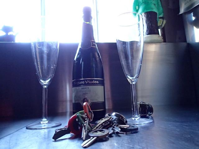 keys keys keys & cheap champagne