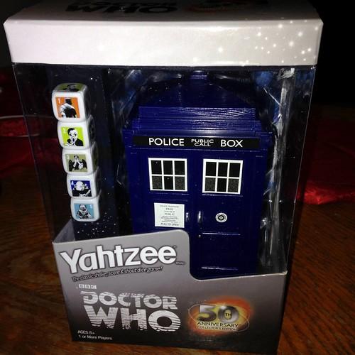 Dr Who Yahtzee