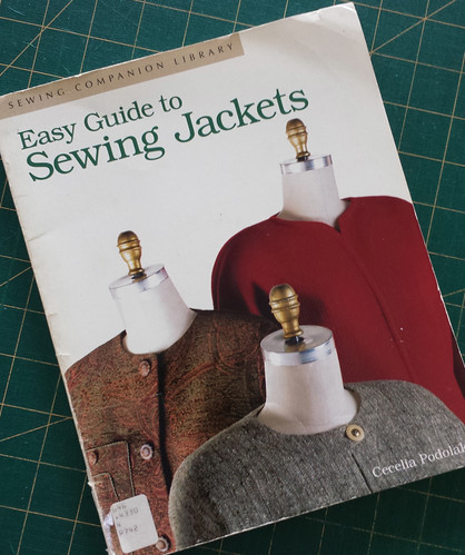 Easy Guide to Sewing Jackets by Cecelia Podolak