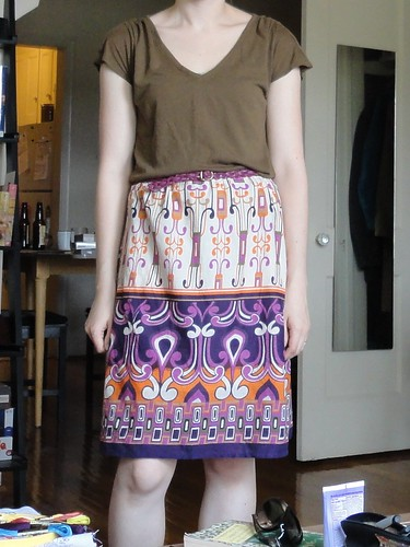 Dress, now a skirt