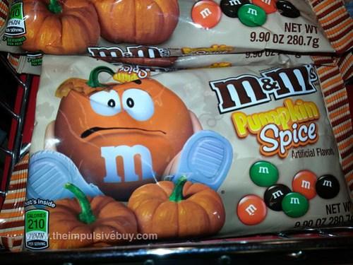 M&M's Pumpkin Spice