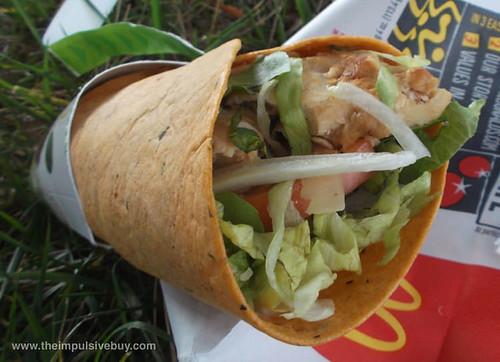 McDonald's Chicken Caesar Premium McWrap