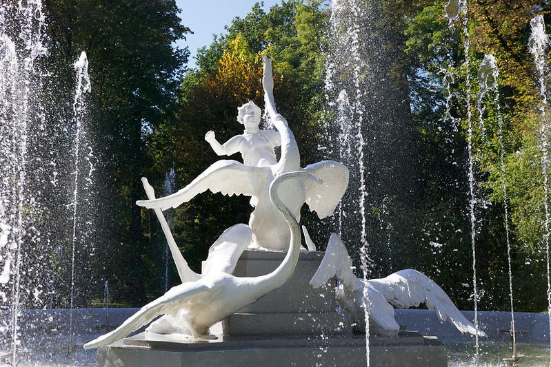 Fountain. Striyskiy park, Lviv, Ukraine