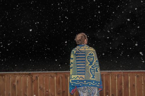 Snow? Stars?