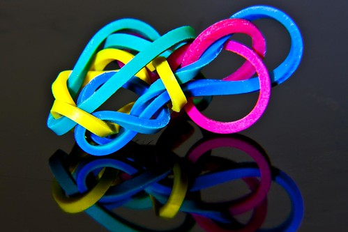 Rubber Bands by Richard Le Sauvage
