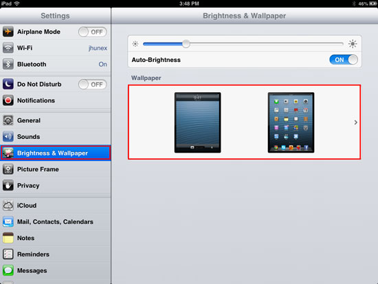 How to change wallpaper on iPhone, iPad and iPad Mini