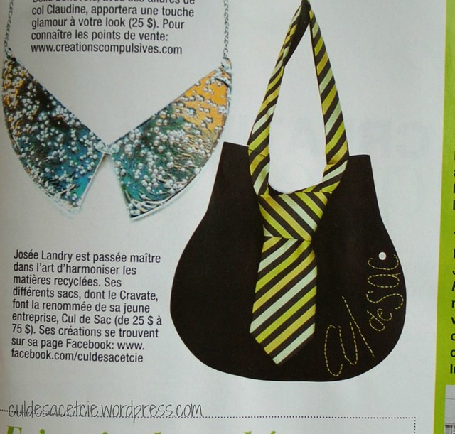 my product, being featured in a mag!