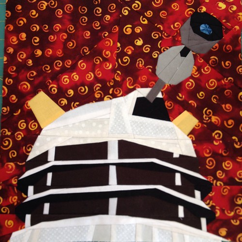 Dalek Block by rocalisa