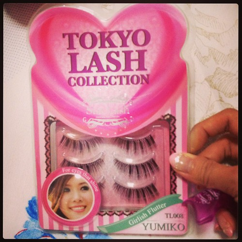 Singapore Lifestyle Blog, nadnut, Singapore Beauty Blog, Star Lash, False Lashes, Tokyo Lash Collection