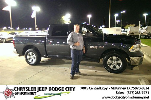 Thank you to William Mineau on your new 2013 #Ram #1500 from Joe Ferguson  and everyone at Dodge City of McKinney! #NewCarSmell by Dodge City McKinney Texas
