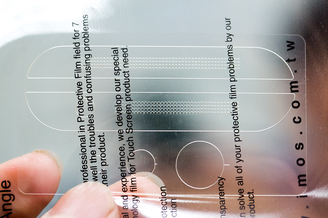 M8 超高工藝保護 – iMOS 特製洞洞保護貼 @3C 達人廖阿輝