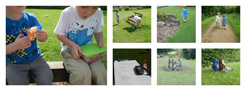 Geocaching at Hermitage Recreation Ground