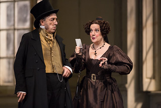 Carlos Chausson as Bartolo and Helene Schneiderman as Marcellina in Le nozze di Figaro © ROH / Mark Douet 2013
