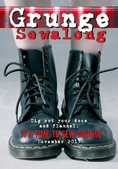 Join us for a Grunge Sewalong in November!