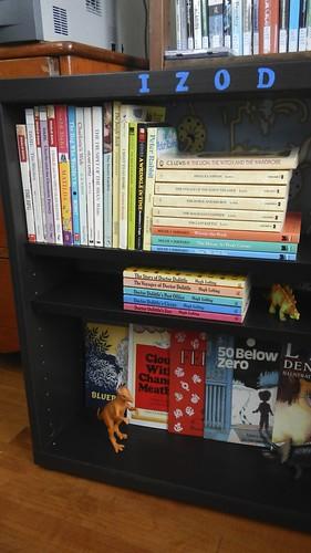 Izod's Bookshelf 8